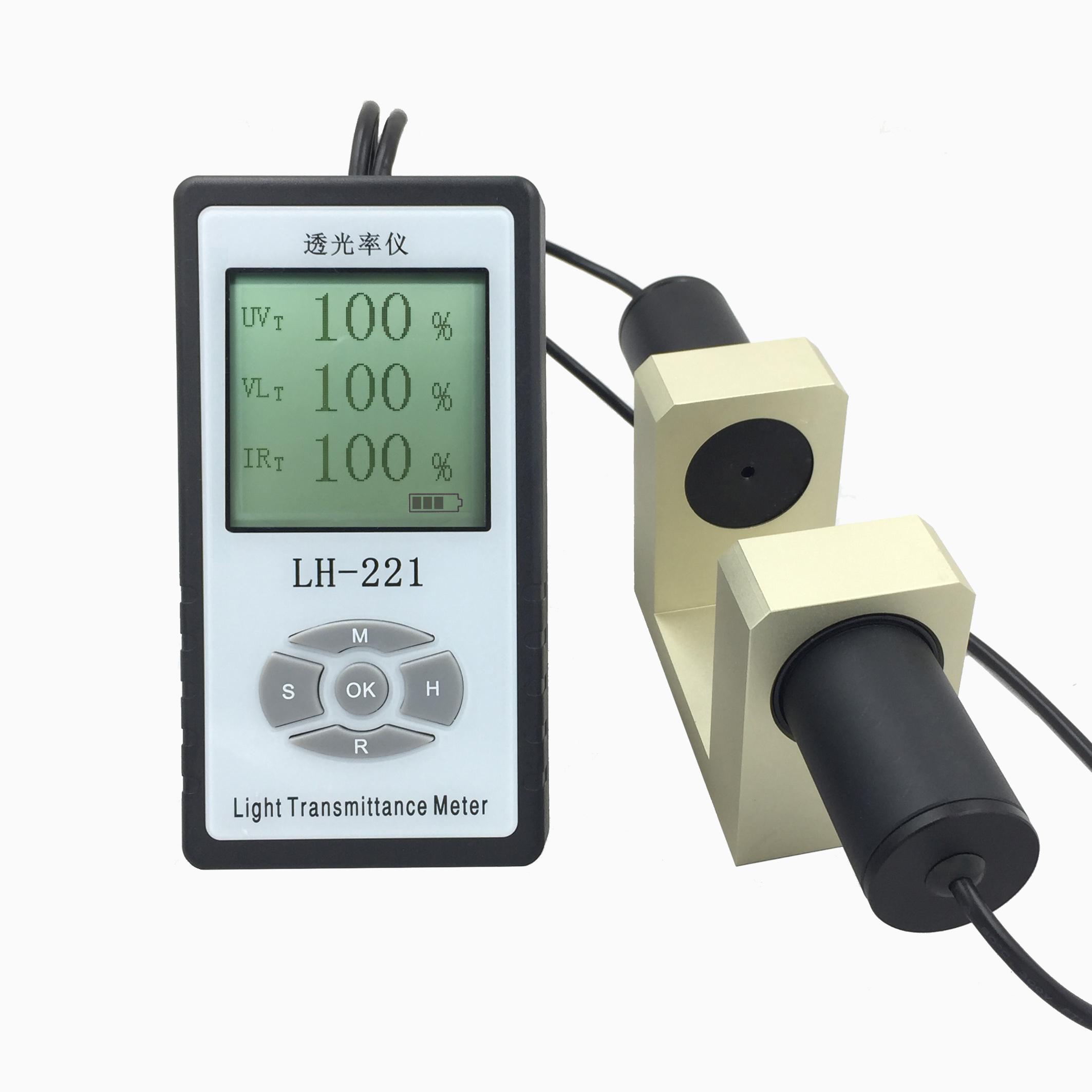 LH-221三波段玻璃透光率计太阳膜测试仪透光率仪84225285