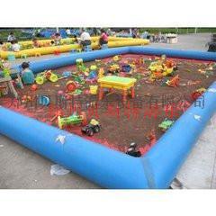 黑龍江齊齊哈爾充氣水池質量0.9mm厚材料定做魚池772904045