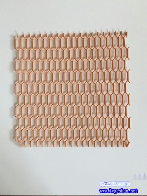 隔断铝网 金属网板 拉网板规格