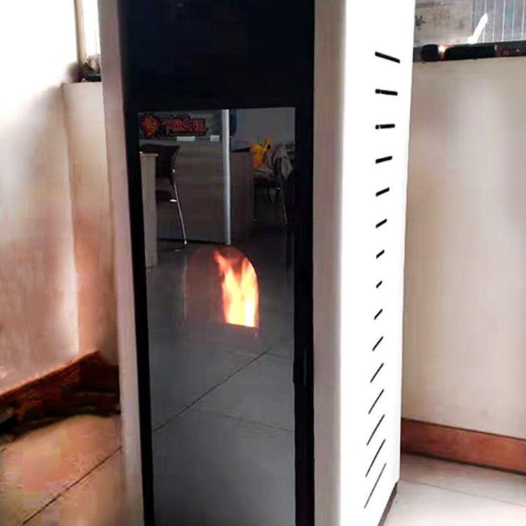 松木锯末颗粒炉采暖炉厂家 湖北地区生物质颗粒取暖炉130097502