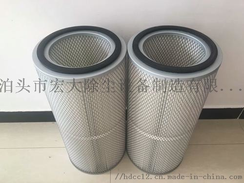 覆膜防静电除尘滤芯 炼钢厂除尘滤筒 除尘滤芯852475672