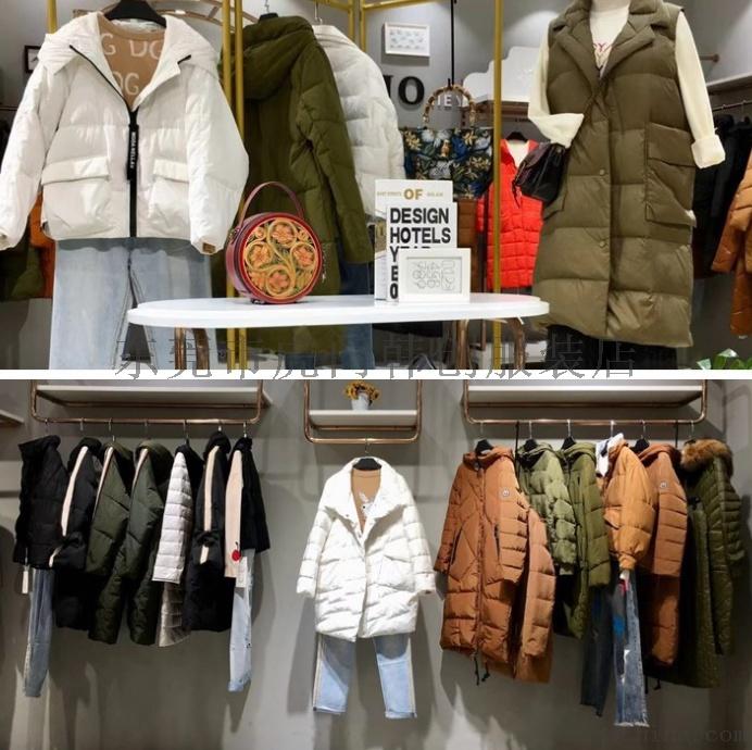 便宜女装棉衣外套时尚韩版羽绒服中长款外套清货765925102