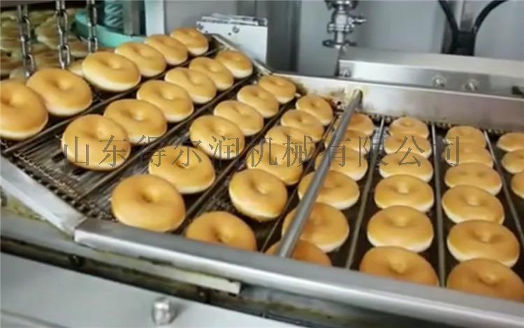 諸城 甜甜圈油炸機 甜甜圈油炸設備 翻轉油炸生產線61375392