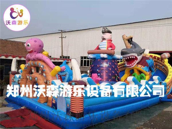 沧州充气城堡厂家,带螺旋滑梯的叫巨鲨来袭充气蹦蹦床809268562