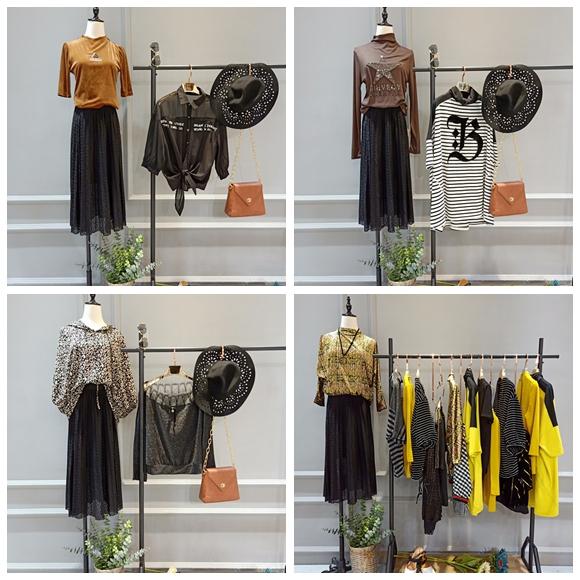 时尚大码女装剪标品牌帕拉娜  折扣店哪来的货源89705005