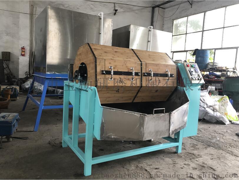 单双层干式木滚桶抛光机(研磨机、抛磨机、光饰机)835350095