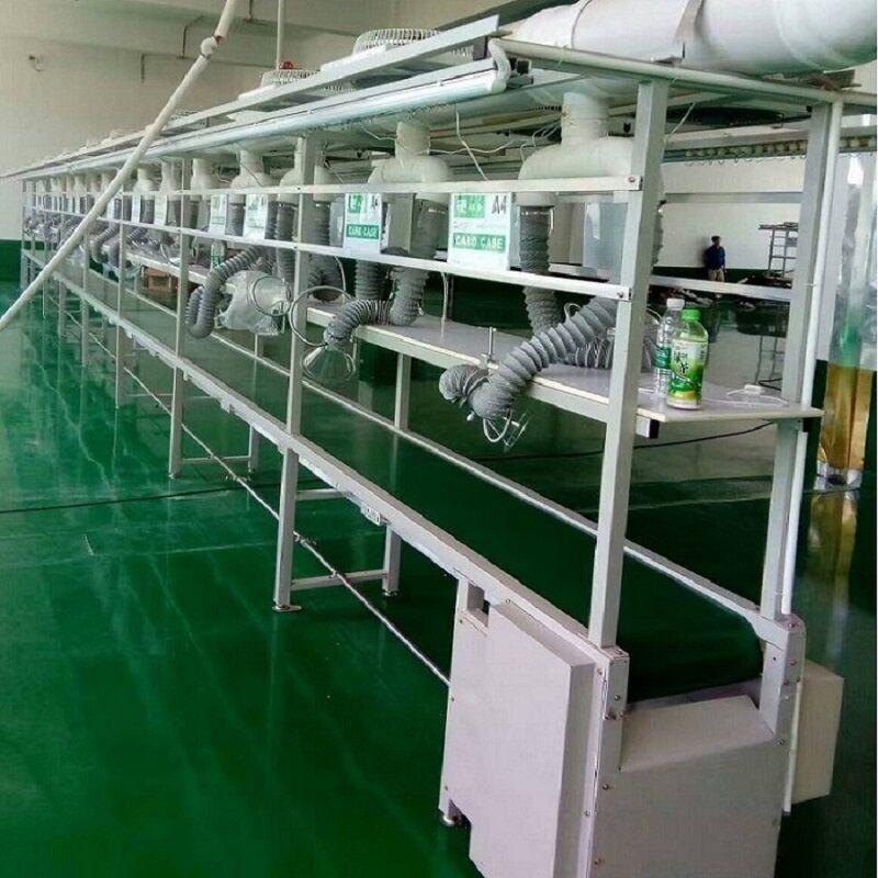 车间生产线设备 电子流水线 小型皮带输送线定制91230492