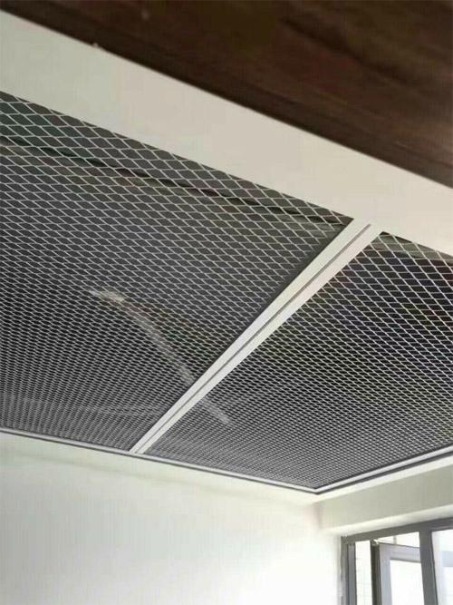 鋁板衝孔網吊頂 鋁板網天花 網格鋁板吊頂.jpg