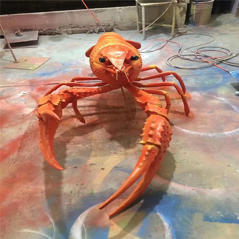 东莞玻璃钢仿真动物雕塑 彩绘小鱼造型雕塑 拍照美陈152718635