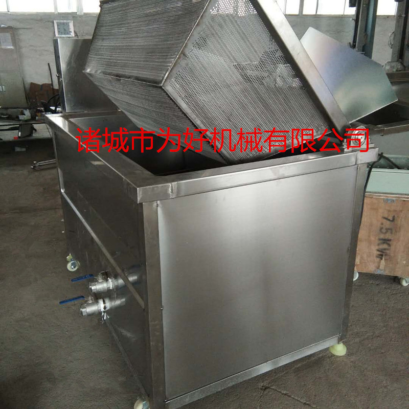 小型方锅式油炸机  电加热油炸机795674202