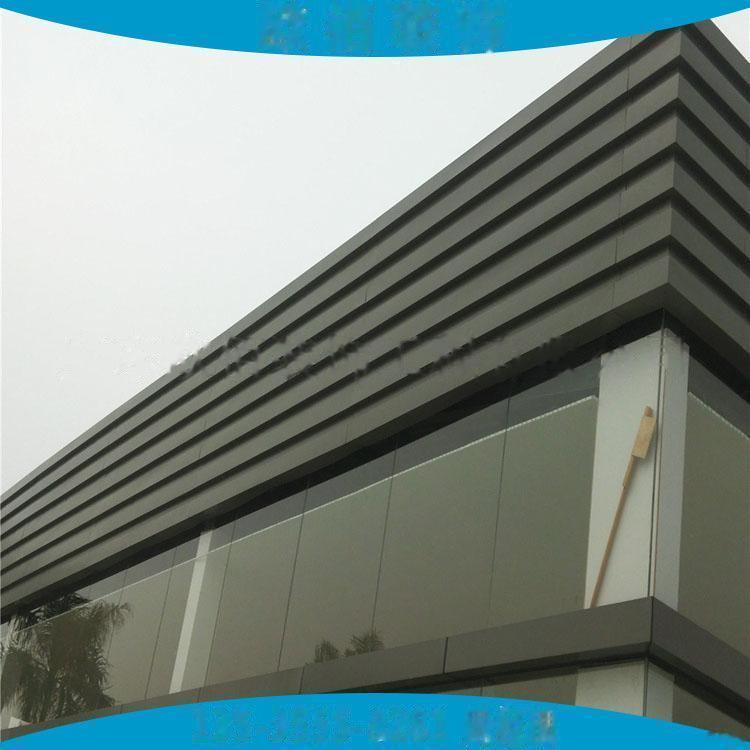 广告门头装饰凹凸型铝板定制  仿木纹长城铝板101546865