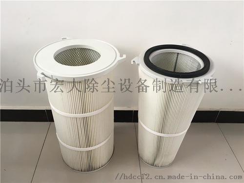 覆膜防静电除尘滤芯 炼钢厂除尘滤筒 除尘滤芯852475652