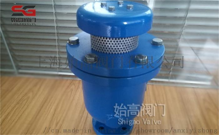 DN25铸铁复合式排气阀