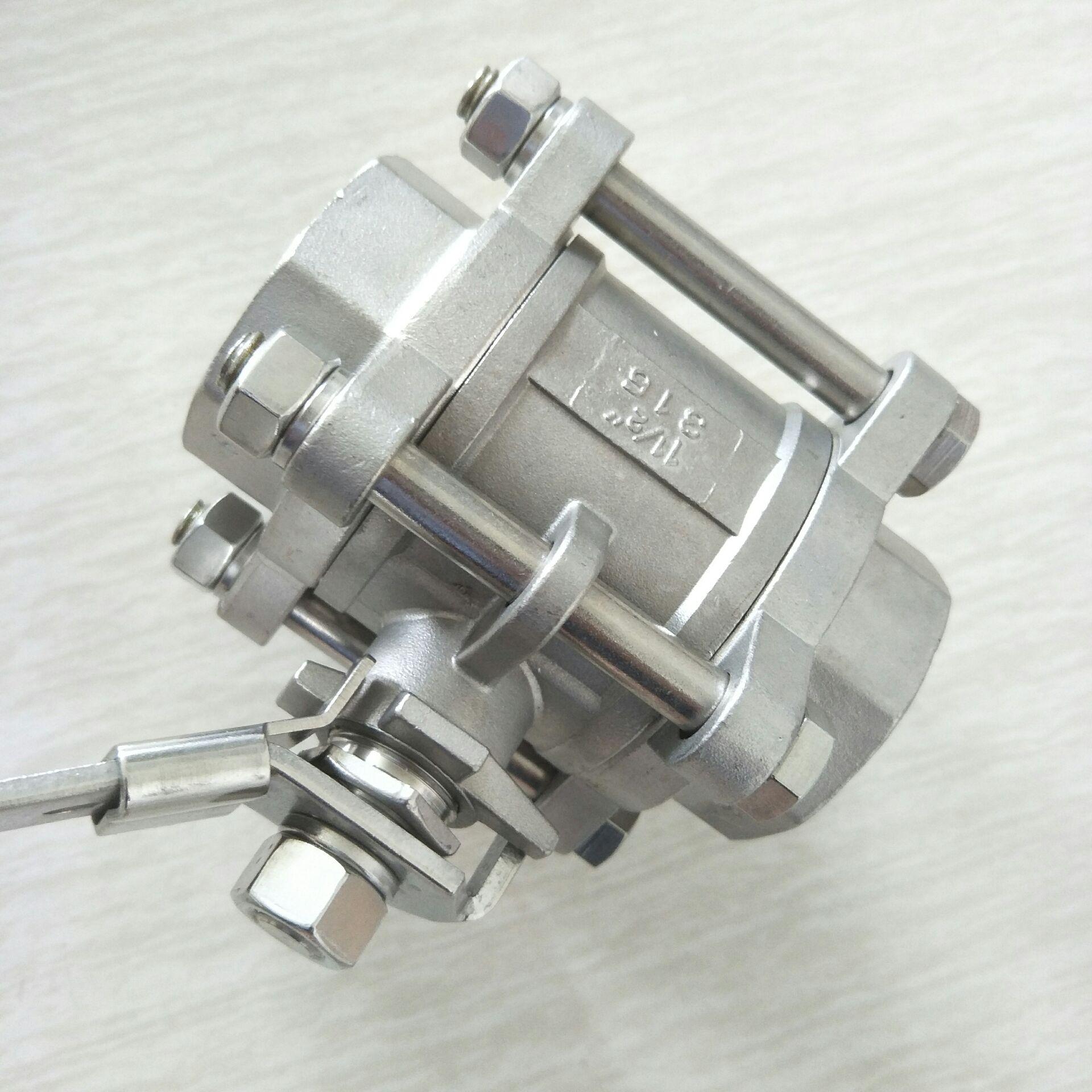 不锈钢三片式球阀 DN40 3PC球阀11/2寸810955102