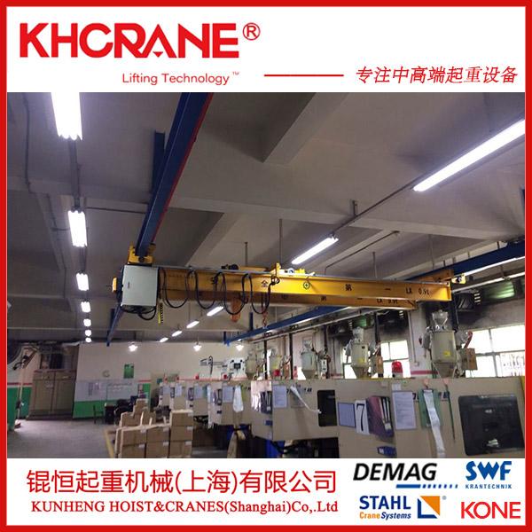 上海锟恒定制LX-2T单梁悬挂起重机  悬臂起重机856486915