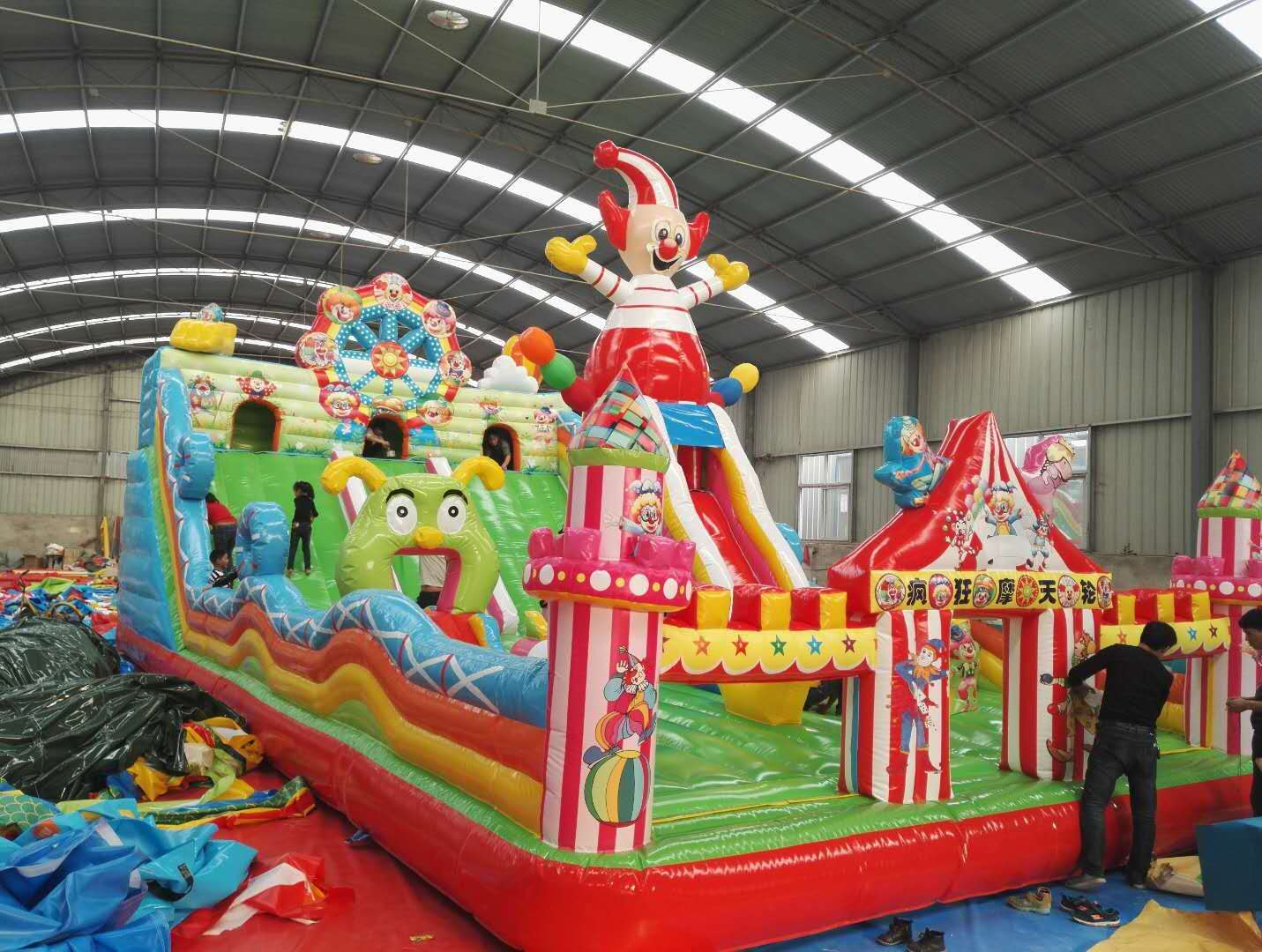 河南三門峽廠家直銷充氣城堡現貨多少錢828654482