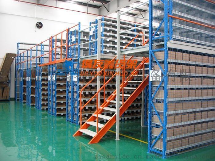 建德仓储重型货架,阁楼货架就选十五年老品牌得友鑫765639315