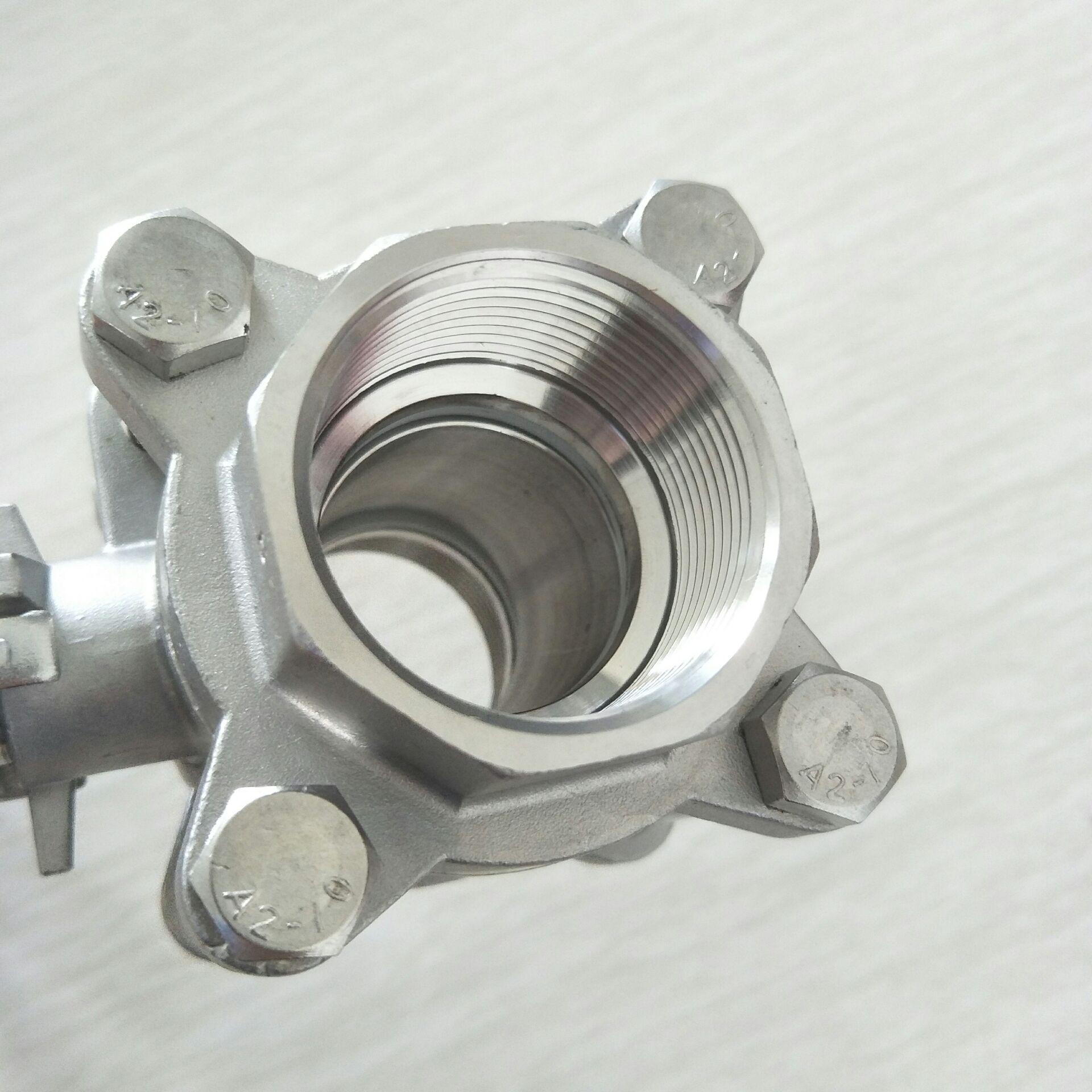 不锈钢三片式球阀 DN40 3PC球阀11/2寸810955112