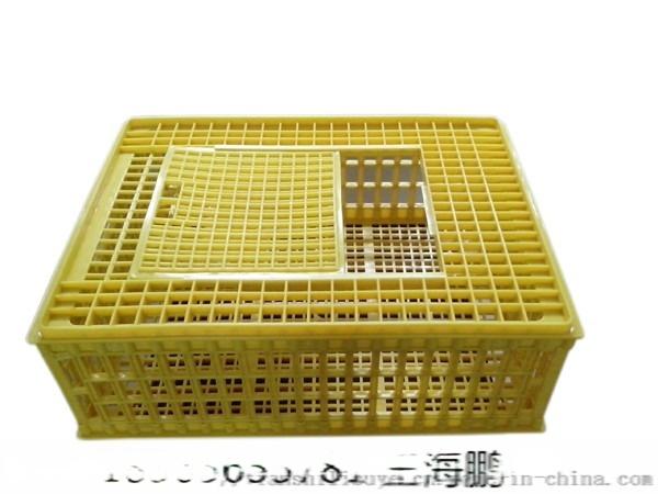鸡鸭兔运输笼子 拉鸡塑料笼子 大鸡塑料笼子896923415