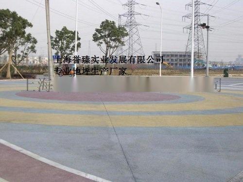 可持续发展城市-----誉臻彩色透水性混凝土地坪62584885
