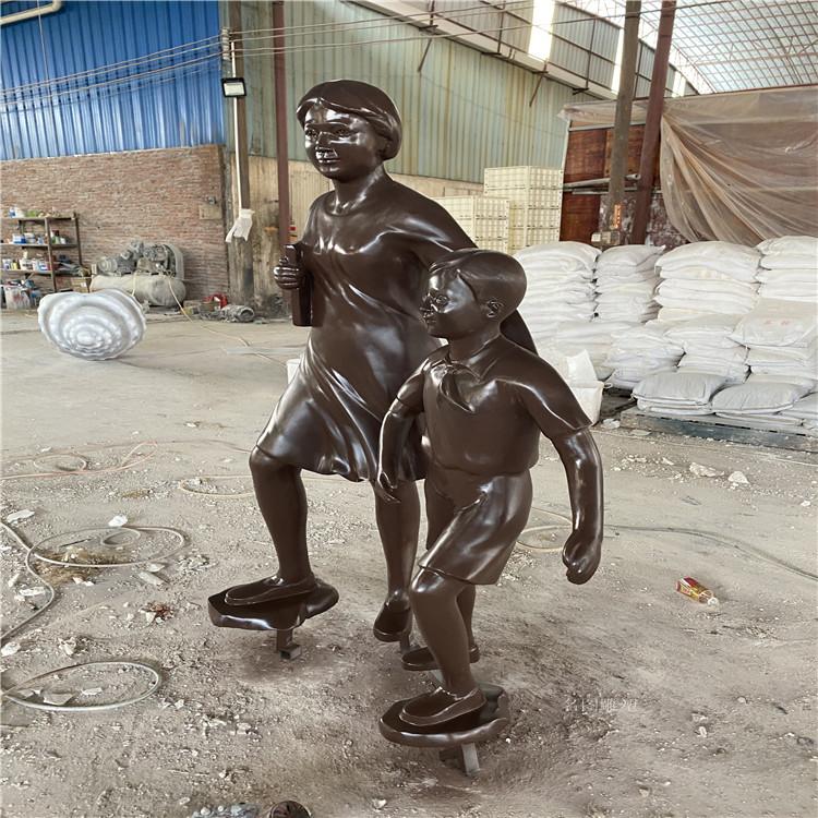 防城港玻璃钢仿铜人物雕塑服务周到146909955