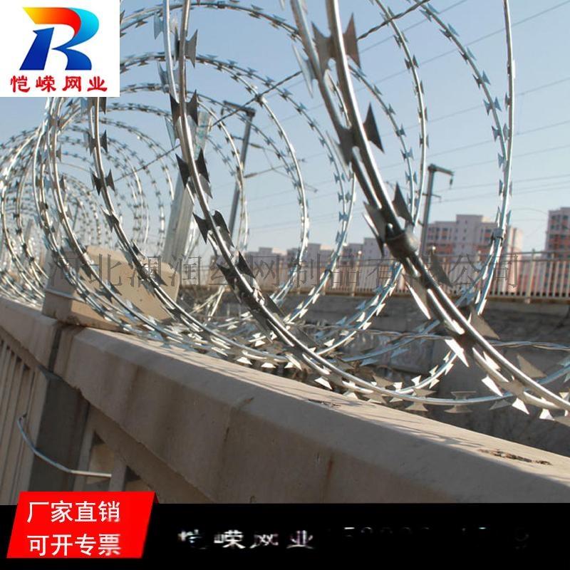 高铁铁路专用热镀锌刺丝滚笼生产厂家135340645
