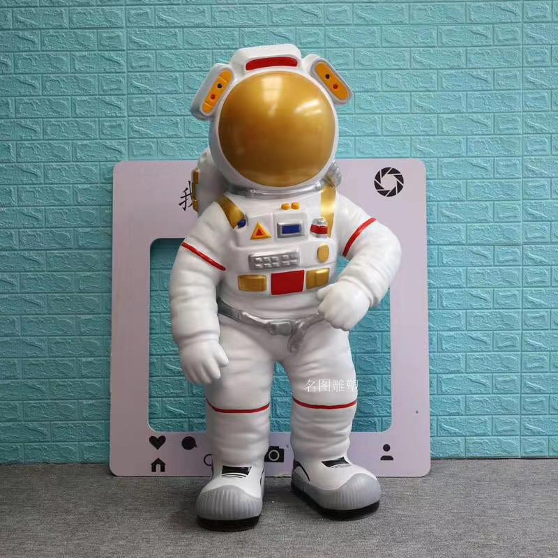 玻璃钢太空人雕塑 航天员雕塑科技馆美陈摆设921357105