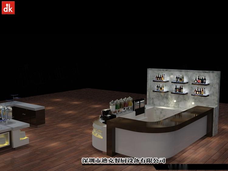 迪克餐廚設計 移動布菲臺專業定製 配套自助餐檯設備92879585