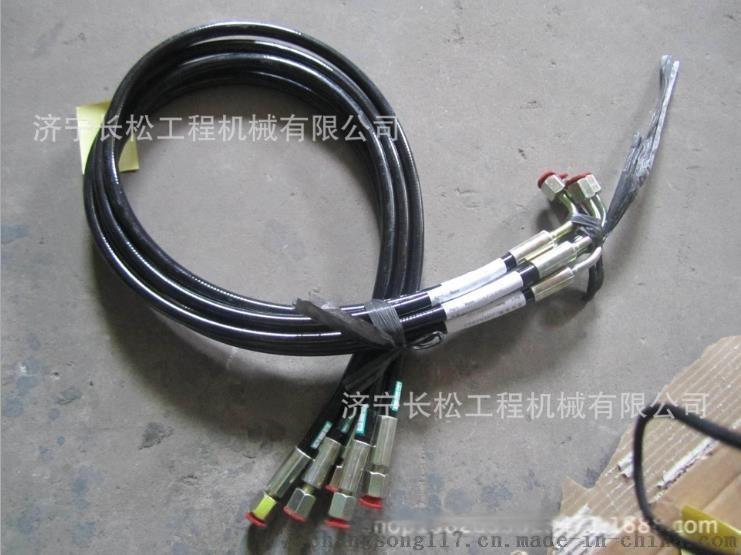 山推裝載機配件 SL50W前剎車泵至制動閥軟管813921845