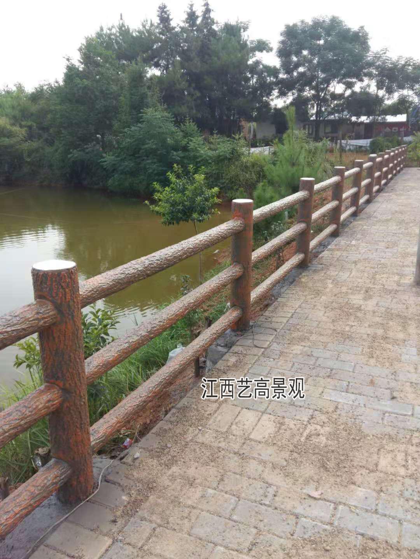 当水泥仿木栏杆邂逅艺术,江西仿木栏杆厂家让景观护栏更生态105171725
