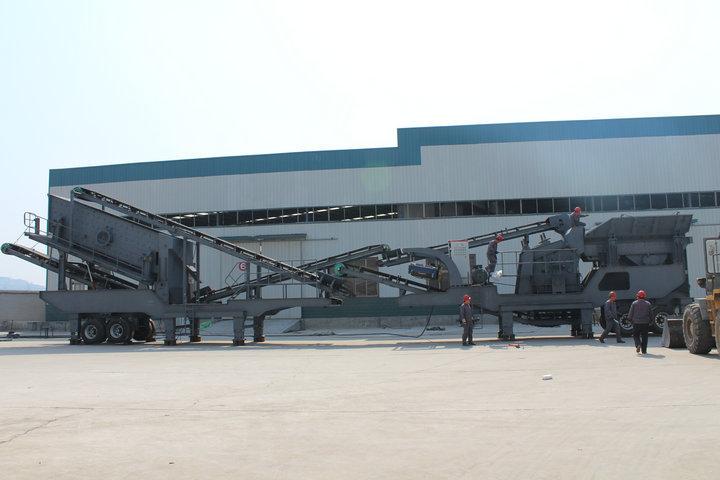 湖南怀化移动式破碎机改进后生产效率明显得到提高69212362