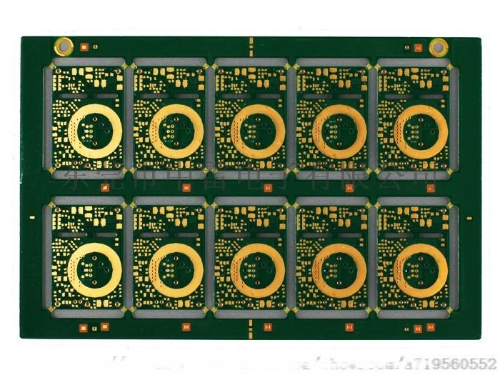 中雷电子 4层阻抗板 多层半孔板生产厂家795969375