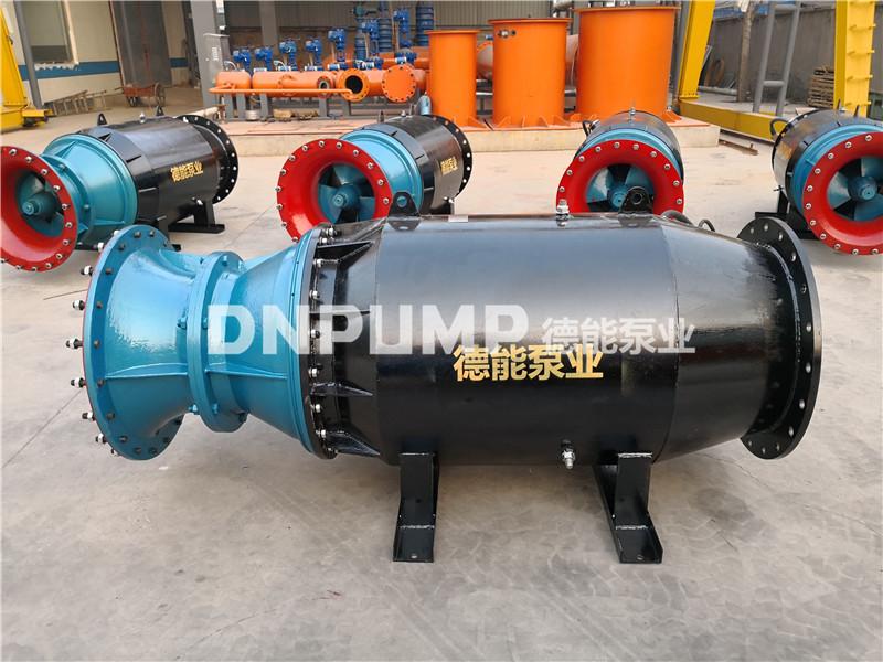 单向卧式潜水轴流泵雪橇式外形765435062