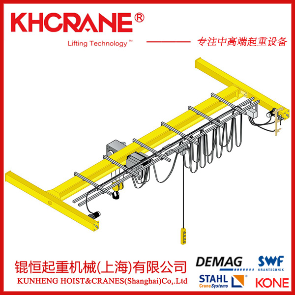 锟恒供应欧式单梁起重机 桥式起重机 电动单梁起重机119860895