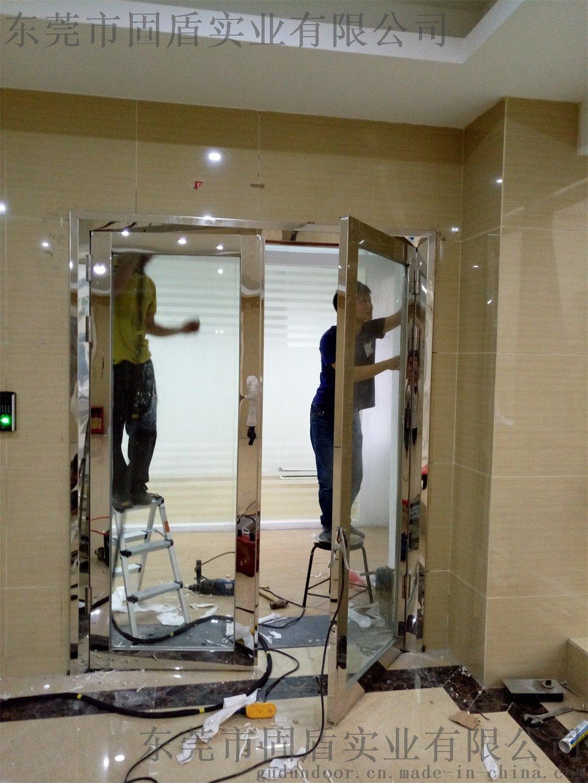 无指纹不锈钢  玻璃防火门耐用性能强772148585