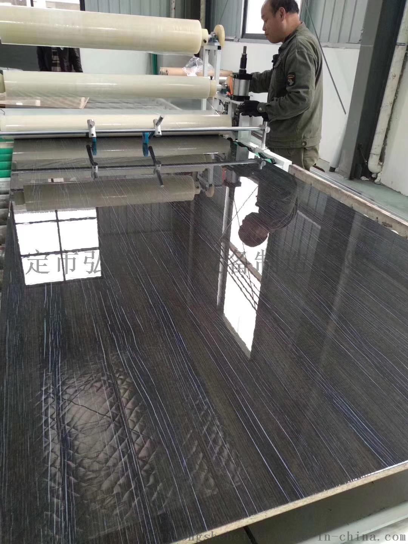 平面板材uv膜壓上光機 三聚氰胺板uv光油膜壓機98743442