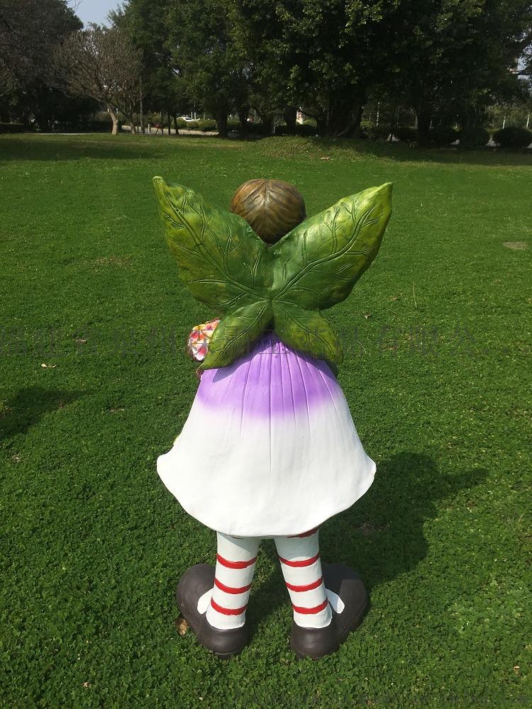 卡通花仙子雕塑工藝品花園戶外幼兒園擺件批發85543835