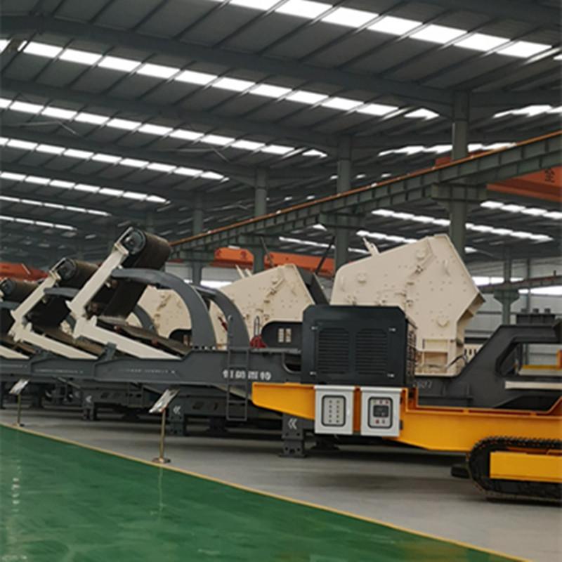 移动石子破碎机 移动碎石设备 大型碎石机厂家直销109422732