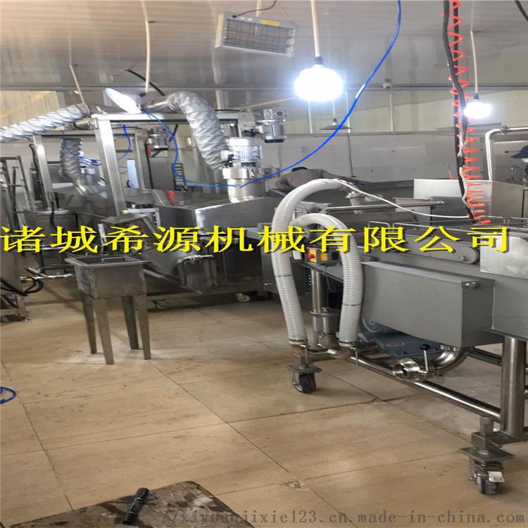 2020批量生产 全自动上浆裹糠机油炸机 上粉机120731172