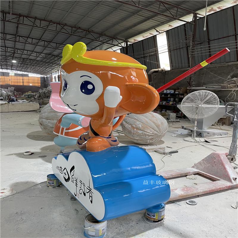 企业吉祥物卡通雕塑 户外玻璃钢卡通雕塑 大型摆件951630745