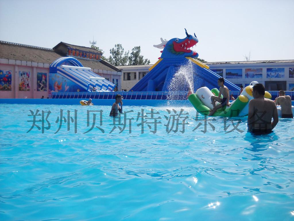 四川水上樂園水上遊樂設施廠家定做直銷支架游泳池776827445