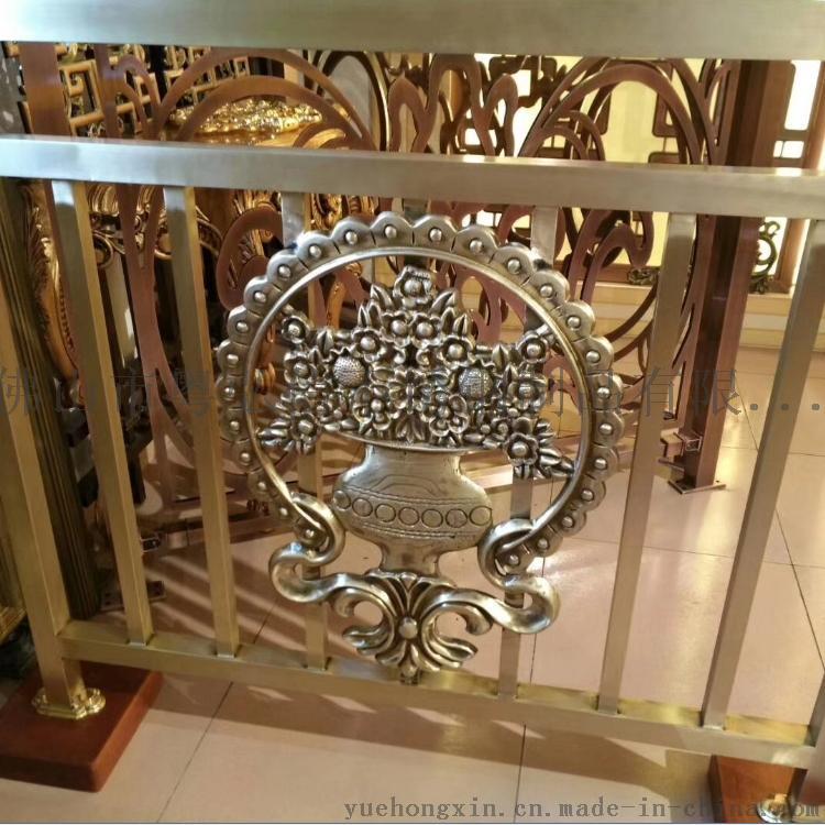 精雕鋁屏風生產廠家  專業加工鋁銅雕刻屏風工藝59625275