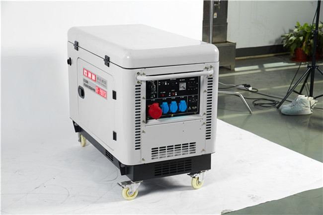备用静音7kw静音柴油发电机93395422