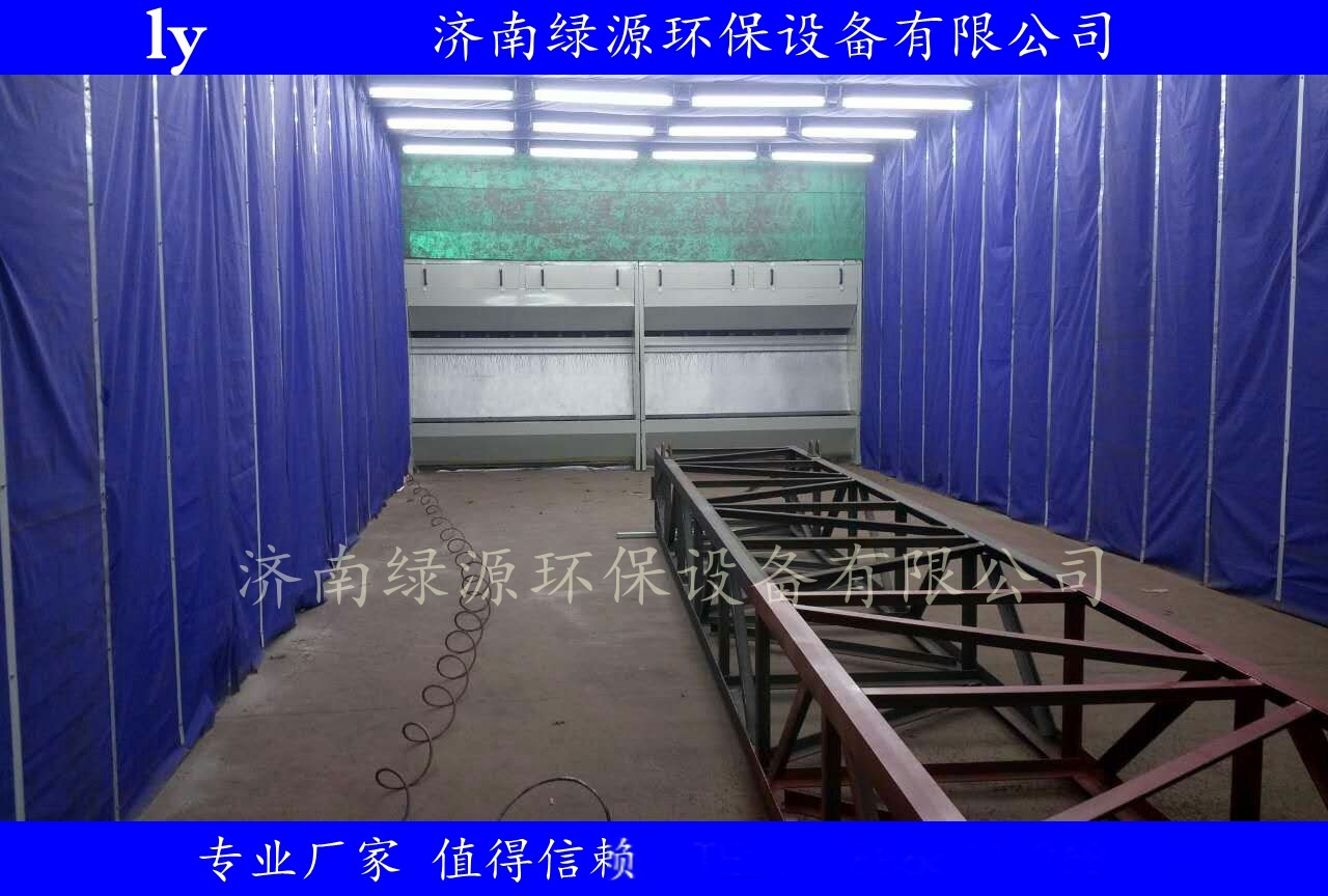 伸缩式喷漆房  大型工件喷漆房 移动环保喷漆房57665842