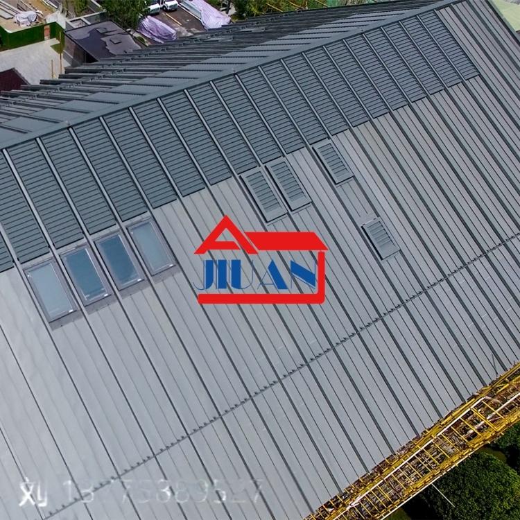 江西钛锌板 直立锁边系统 钛锌合金平锁扣板861259505