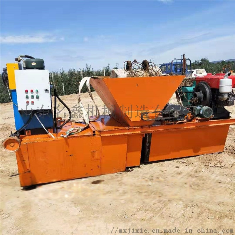 水渠成型机现场指导施工 一次成型液压水渠成型机107764832
