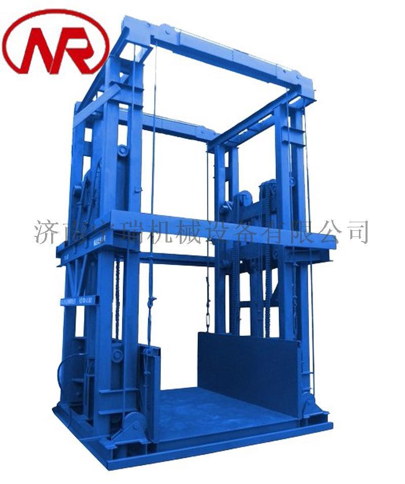 导轨式液压货梯 现场安装升降平台 梯井货梯846584662