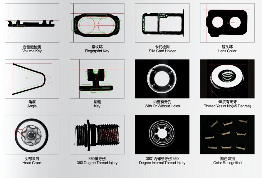 研磨件尺寸测量及表面缺陷检测 视觉检测系统844416142