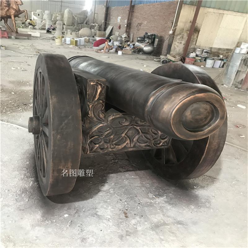 顺德乐园玻璃钢**模型拍戏道具大炮造型雕塑893108315