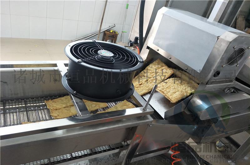 豆皮油炸设备 厂家直销全自动腐竹油炸机器101372232